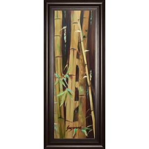 """Bamboo Finale Il"" By Suzanne Wilkins Framed Print Wall Art"