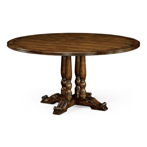 """60"""" French round country dining table"""