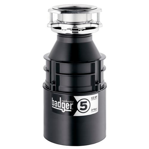 Insinkerator - Badger 5 Garbage Disposal - Without Cord