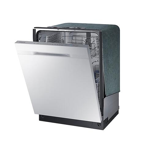 Samsung - StormWash™ Dishwasher with Top Controls in White