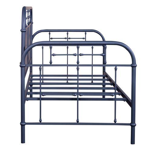 Twin Metal Day Bed - Navy