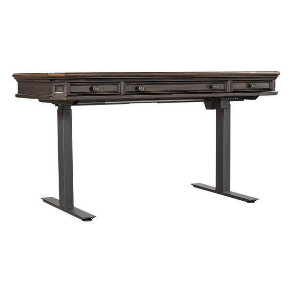 See Details - Adj. Desk Base - Black