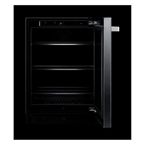 "24"" NOIR™ Under Counter Glass Door Refrigerator, Right Swing"