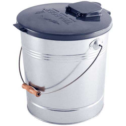 Traeger Wood Pellet Storage - Metal Bucket