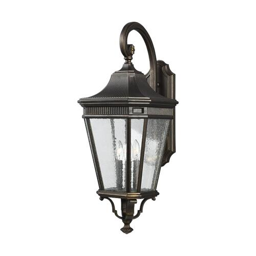 Cotswold Lane Large Lantern Grecian Bronze