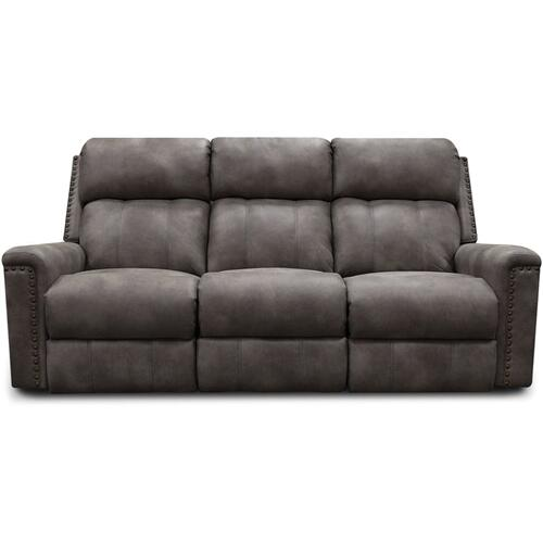 EZ1C01N EZ1C00 Double Reclining Sofa with Nails