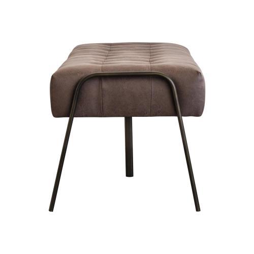 Venturi Fabric Tufted Bench, Devore Brown
