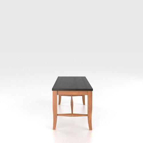 Canadel - Wooden seat bench