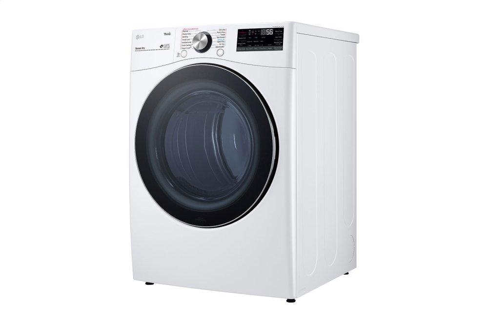 7.4 cu. ft. Ultra Large Capacity Smart wi-fi Enabled Front Load Electric Dryer with TurboSteam™ and Built-In Intelligence Photo #4
