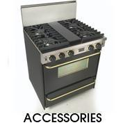 Side Trim Kit Side Trim for Open Burner Ranges & Cooktops