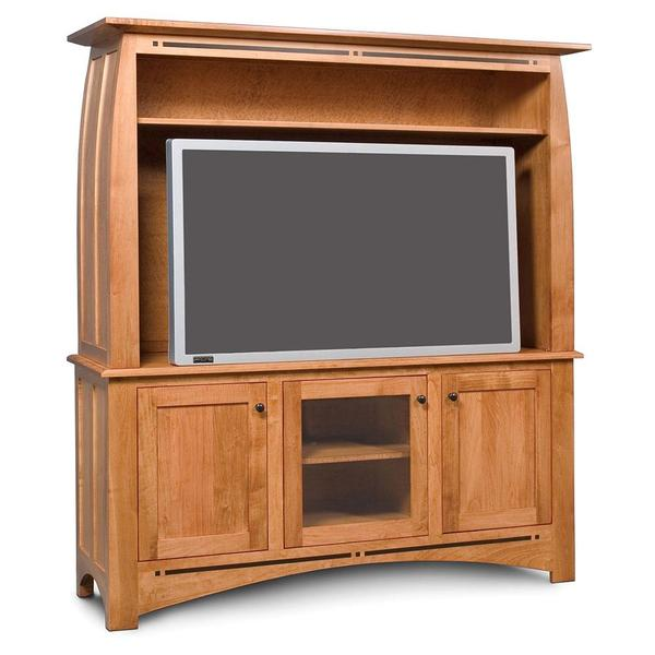 See Details - Aspen 2-Piece Widescreen Center with Inlay