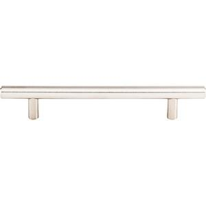 Top Knobs - Solid Bar Pull 5 1/16 Inch (c-c) Brushed Stainless Steel