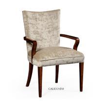 Biedermeier style mahogany dining armchair