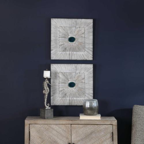 Uttermost - Anika Wood Wall Decor, Blonde