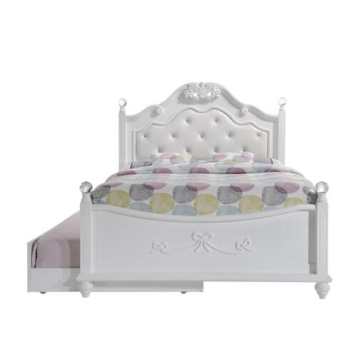 Alana Full Platform Bed w/ Storage Trundle