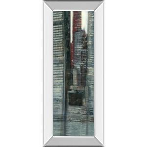 """Urban Landscape VI"" By Norman Wyatt Mirror Framed Print Wall Art"