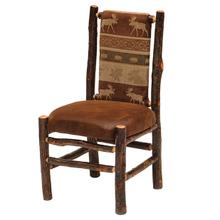 Side Chair - Natural Hickory - Standard Leather