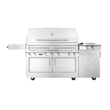 K1000 Freestanding Hybrid Fire Grill with Side Burner
