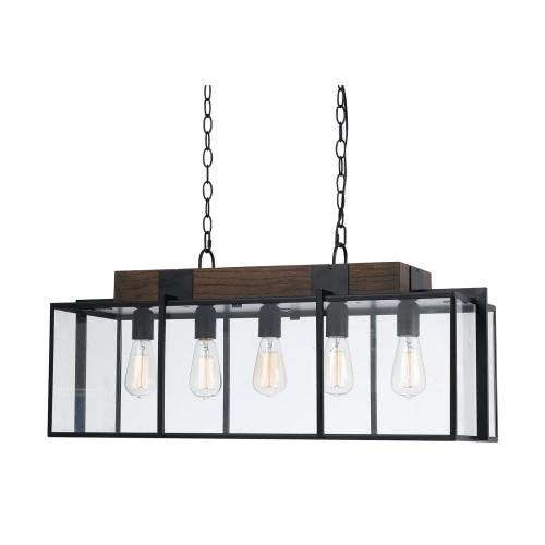 60W X 5 Antonio Chandelier (Edison Bulbs Not included)