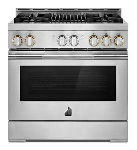 """RISE™ 36"""" Gas Professional-Style Range with Grill"""