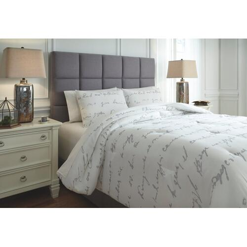 Adrianna 3-piece King Comforter Set