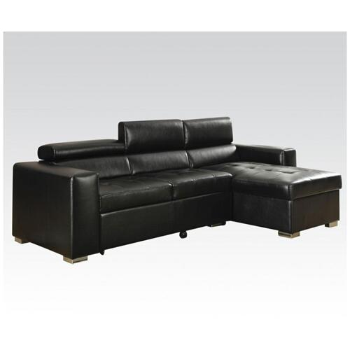 Acme Furniture Inc - Aidan Black Blm Sectional Sofa