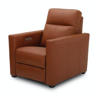 See Details - Broadway Power Recliner with Power Headrest