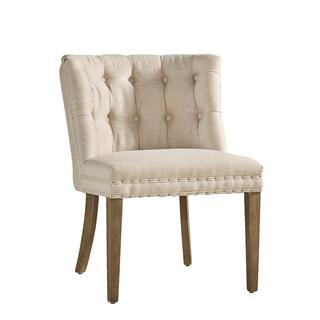 See Details - Linen Cypress Chair