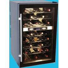 40-Bottle Capacity Wine Cellar with Dual Storage Compartment