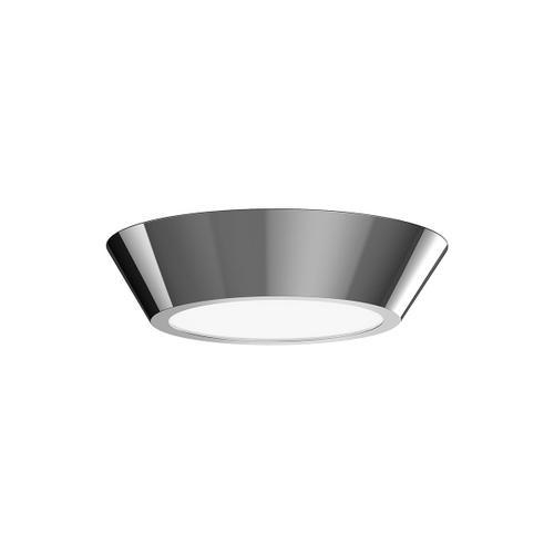 "Sonneman - A Way of Light - Oculus LED Surface Mount [Size=10"", Color/Finish=Polished Nickel]"