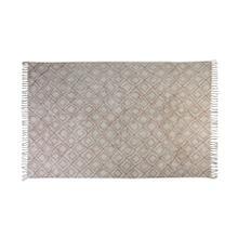 6815989 - Rug 230x160 cm BOYAKA old pink-white rhombus print