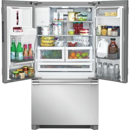 Frigidaire Professional - Frigidaire Professional 21.6 Cu. Ft. French Door Counter-Depth Refrigerator
