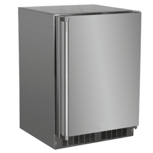 Marvel24-In Outdoor Built-In High-Capacity Refrigerator with Door Style - Stainless Steel