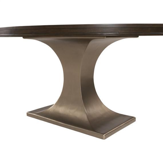 Riverside - Monterey - Oval Dining Table Base - Mink Finish