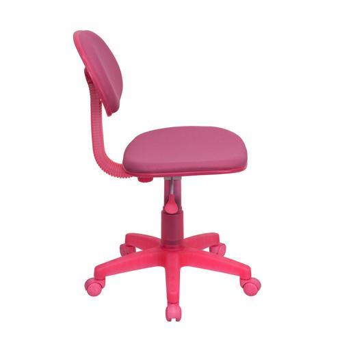 Gallery - Pink Mesh Swivel Task Office Chair