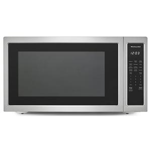 "24"" Countertop Microwave Oven - 1200 Watt - Stainless Steel Product Image"