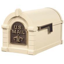 Fleur De Lis KS-26F Keystone Series Mailbox