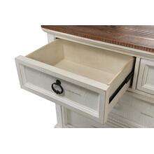 DRESSER - Antique White & Honey
