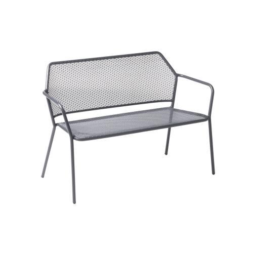 Alfresco Home - Martini Iron Garden Bench Pencil Point