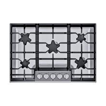 SGSXP305TS ® offers an impressive 30-inch gas cooktop with 5 raised pedestal Star® burners, including a center-mounted power burner, 2 ExtraLow® simmer burners, and 54,000 BTUs of overall heat output. 30-Inch Masterpiece® Pedestal Star® Burner Gas Co