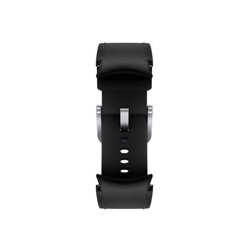 Samsung - Galaxy Watch4, Galaxy Watch4 Classic Hybrid Leather Band, M/L, Black