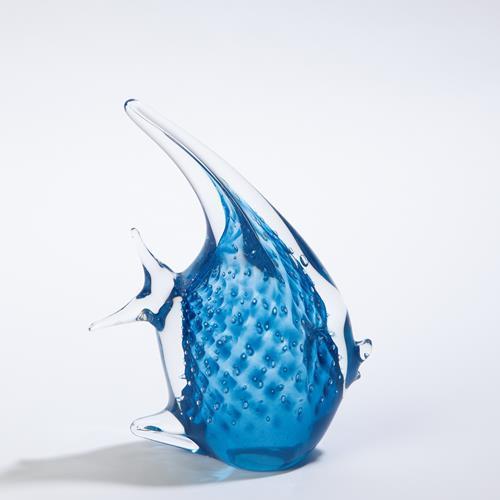 Angelfish-Cobalt Bubbles-Sm