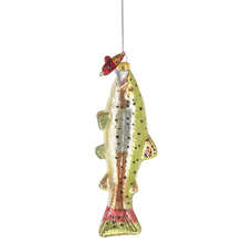 Fish with Lure Ornament