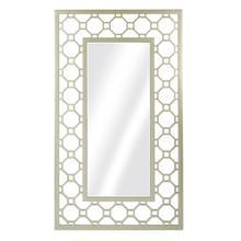 Matte Gold Frame Square Mirror