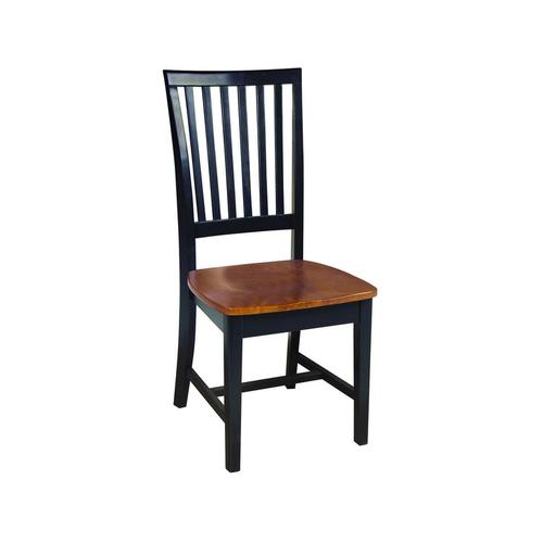 Product Image - Mission Chair in Black & Cherry