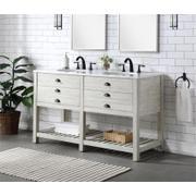 2 Drw Double Vanity Sink Product Image