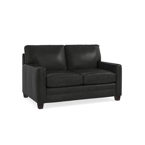 Bassett Furniture - Ladson Leather Loveseat