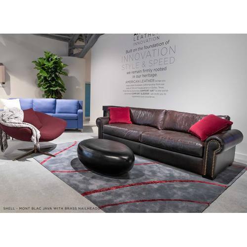 Shell - Oversized Rolled Arm Sofa - American Leather
