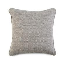 Decorative Throw Pillow in Textured Grey