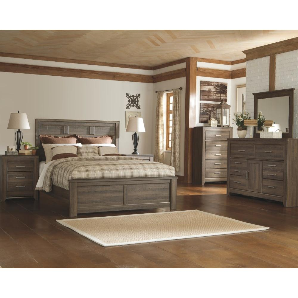 Juararo California King Panel Bed